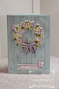 Diary of a Minnesota Stamper: Wondrous Wreath Bundle Save Handmade Greetings, Greeting Cards Handmade, Wondrous Wreath, Minis, Pretty Cards, Flower Cards, Creative Cards, Scrapbook Cards, Homemade Cards