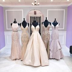 Which one has the dress you're wearing if you hit the red carpet this year. 🤞🏼 fingers crossed 🌸🐝🌸🐝🌸🐝🌸🐝🌸🐝🌸🐝🌸🐝🌸come shopping with your sister and friends at the new Cute Formal Dresses, Pretty Prom Dresses, Elegant Prom Dresses, Hoco Dresses, Pageant Dresses, Quinceanera Dresses, Dance Dresses, Ball Dresses, Homecoming Dresses
