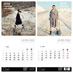 Fashion Calendar byLaura Daili Vilnius