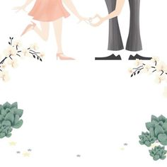 "Custom ""Save the Date"" - wedding card. Designed OhhhKaye - Kaye Sedgwick"