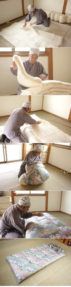 Hisayoshi Nohara: Futon maker | MustLoveJapan - Video Travel Guide of Japan