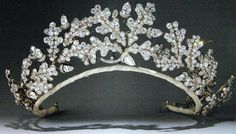 Oak Leaf Tiara made by Garrards for the 15th Duke of Norfolk. A wedding gift for his bride.