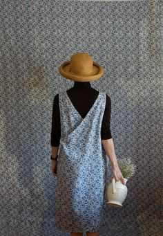 Smock de Méule Dress this blue floral fabric is out of by xMOTHERx, $110.00