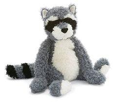 Rafferty Raccoon | Jellycat stuffed animals, Animals, Jellycat