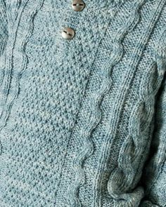 Germain Sweater in Phildar Phil Nature - Downloadable PDF Cross Stitch Supplies, Knitting Supplies, Craft Materials, Crochet Yarn, Pulls, Cross Stitch Embroidery, Baby Knitting, Men Sweater, Pattern