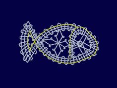 Fine-Lace, Embroidery, freeby, Christmastree
