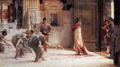 lawrence alma-tadema | Caracalla - Sir Lawrence Alma-Tadema - WikiPaintings.org