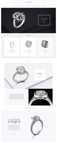 Jewellery maker Leysen brand new website. clean minimal web design Jewellery maker Leysen brand new website. Banner Design Inspiration, Website Design Inspiration, Jewelry Sites, Jewelry Website, Banner Site, Jewelry Banner, Banners Web, Webdesign Inspiration, Logos Retro