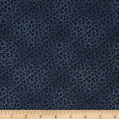 Penny Rose Civil War Times Leaf Blue from @fabricdotcom  Designed by Erin Turner for Penny Rose, this cotton print is perfect for quilting, apparel and home decor accents. Colors include cream and shades of dark blue.