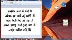 Hoe druk ik een tekst groot af met je pc? Spreiden van tekst voor een gr...