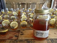 Ole Smokey Apple Pie Moonshine - this stuff is so good you can actually drink it straight out of the bottle without a chaser. Grab some at Total wine. Repin if think this is a great way to start a party!! #OleSmoky #ApplePie #Moonshine