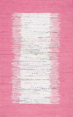 Avignon Turin Pink Area Rug