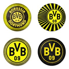 "BORUSSIA DORTMUND Football Club 1.75"" Badges Pinbacks, Mirror, Magnet, Bottle Opener Keychain http://www.amazon.com/gp/product/B00K3U2I7A"