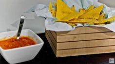 Tortillas e patatine di mais