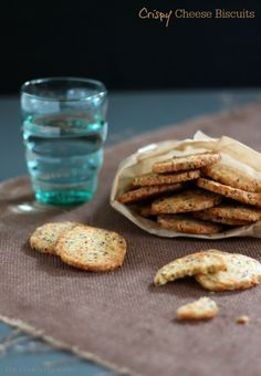 Crispy Cheese Biscuits | thecookspyjamas.com
