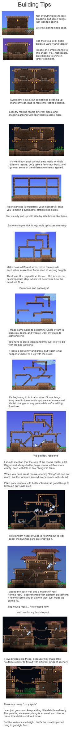 Minecraft Creative Tips Tricks: 95 Best Terraria Base Inspiration Images