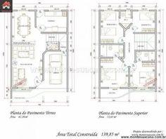 projetos de apartamentos geminados - Recherche Google