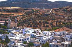 The top 10 Things to Do in Paros, including best traditional communities, beaches, activities and cultural attractions. Naoussa Paros, Paros Island, Greece Travel, Greece Trip, Mountain Village, Greek Islands, Great View, Kayaking, City Photo
