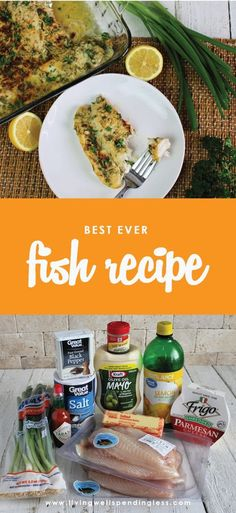 The Very Best Fish Recipe Ever Need some inspiration to try something new for dinner? This foolproof recipe is not only amazingly delicious, it works with almost any type of fish! The Very Best Fish Recipe Ever Best Fish Recipe Ever, Best Fish Recipes, Side Dish Recipes, Snack Recipes, Cooking Recipes, Favorite Recipes, Cooking Fish, Delicious Recipes, Dinner Recipes