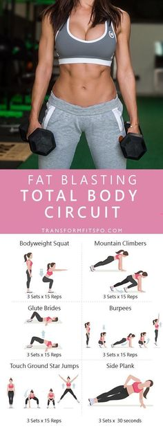 Repin and share if you enjoyed this total body circuit | Posted by: CustomWeightLossProgram.com