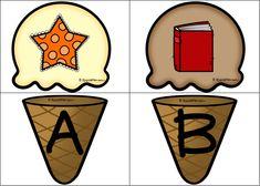 Υλικό για την εκμάθηση της αλφάβητου! Χτίζω το παγωτό αντιστοιχίζοντας την εικόνα με το σωστό φώνημα από το οποίο ξεκινάει η λέξη. Κατάλληλο για μαθητές με ειδικές μαθησιακές δυσκολίες και άλλες ανάγκες. Accessories, Jewelry Accessories