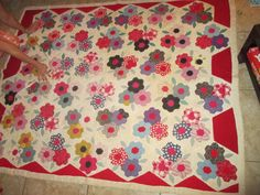 Antique Hand Made Quilt