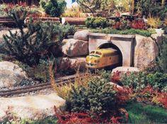 train garden - near greenhouse?