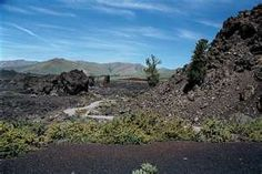 Lava and Volcanoes dominate the landscape at Craters of the Moon National Monument, Southern Idaho.