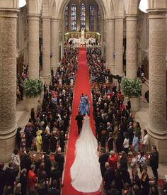 WEDDİNG CEREMONY OF PRİNCE GUİLLAUME AND COUNTESS STEPHANİE- CHURCH CEREMONY