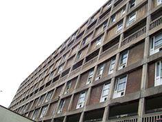 Park Hill flats, Sheffield Derelict Buildings, Sheffield City, The Blitz, Social Housing, Listed Building, City Council, Slums, Park, Architecture