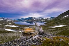 Hardangervidda sunset - null