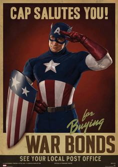 """Captain America: The First Avenger Marvel Prop Posters """"Cap Salutes You"""" 62 X 90 Cm. Captain America: The First Avenger Marvel Prop Posters """"Cap Salutes You"""" 62 X 90 Cm. Captain America Poster, Marvel Captain America, Capitan America Marvel, Chris Evans Captain America, Captain America Wallpaper, Marvel Comics, Hero Marvel, Marvel Dc, The Avengers"""