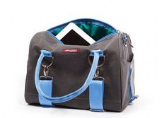 Waxed Canvas Logan Tote $99.95 http://cyclestyle.com.au/shop/rack-bags/black-waxed-canvas-logan-tote/