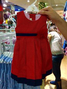 Vestido rojo Baby Club