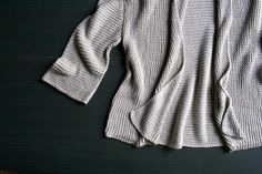 Folded Squares Cardigan | The Purl Bee