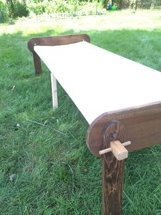 1859 Marcy Field Cot by BarnetteWoodshop on Etsy