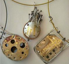 Silver Stitched Jewelry - Mary Hettmansperger
