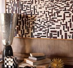 paint chip wall art inspiration