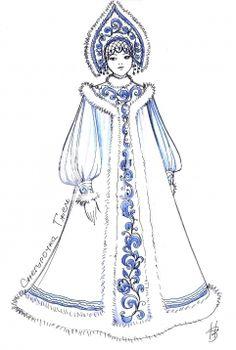 Костюм Снегурочка snow princess outfits for my Nay Nay & Roo!