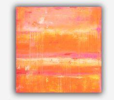 PAINTING+colorful+large+art+painting+por+erinashleyart+en+Etsy,+$549.00