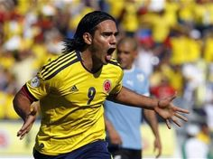 Falcao!!  Colombia is on the the way to the World Cup 2014.