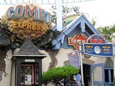 Comet Express - Lotte World in Korea! SUCH a good ride!  This actually is one of my favorite rides.  Scrambler type cars on a roller coaster mostly in the dark.