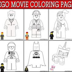 LEGO Movie Coloring Pages