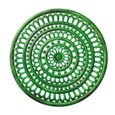 Sundial Placemat by Kim Seybert   Green   Set of 4