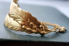 Hunger Games Wedding Jewelry Katniss birdclaw and feather bracelet