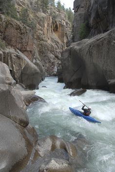 Kayaking ~ Telluride, Colorado