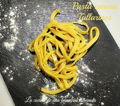 Pasta fresca casera, tallarines, después de medio año por fin estreno la máquina para pasta ... ~ COCINA DE UNA BANCARIA ESTRESADA