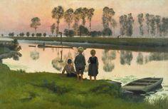 Le Prince Lointain: Emile Claus (1849-1924), Le Bateau qui Passe.