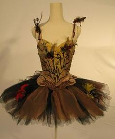 Tutu for the character The Fairy of the Song Birds in the Prologue of the Sadler's Wells Ballet production of 'The Sleeping Beauty' (1946). @designerwallace