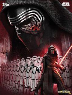 MOVIE Posters Art #10 Star Wars The Force Awakens Storm Trooper Kylo Ren A3
